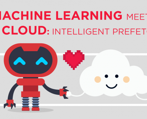 Machine Learning Meets The Cloud: Intelligent Prefetching